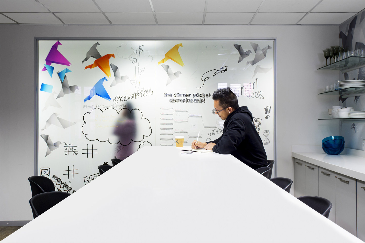 Improving workspaces to give employees what they want